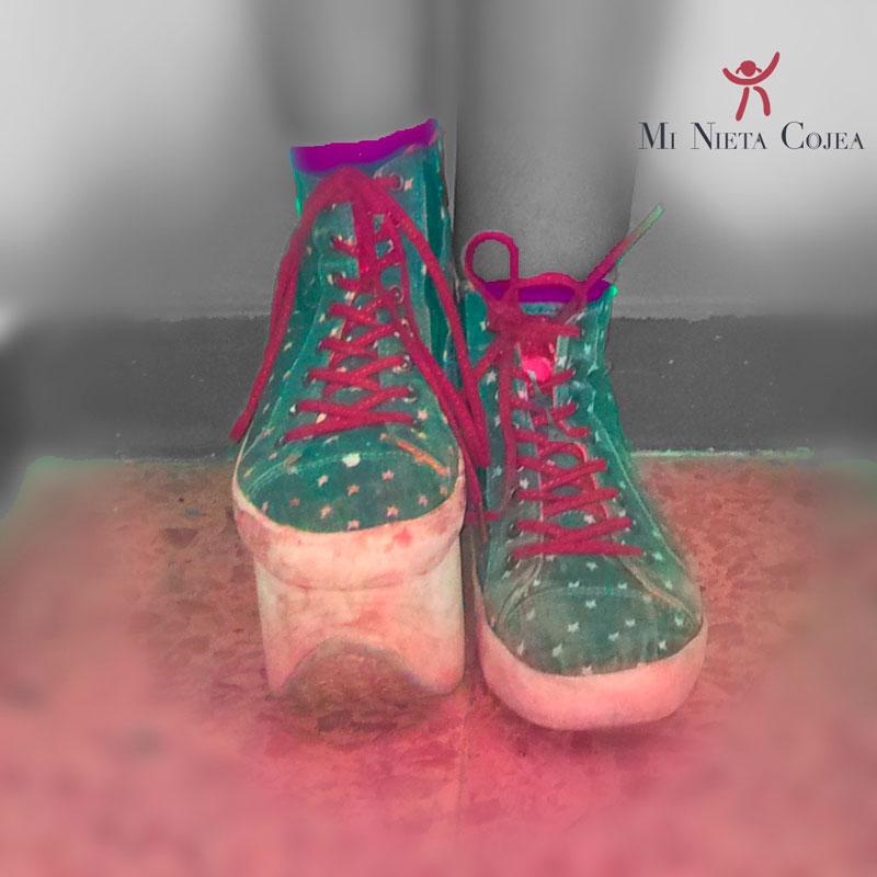 Alza taco zapato
